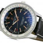 5 Abbildung zum Produkt Breitling Navitimer Automatic 41 Leder Schwarz