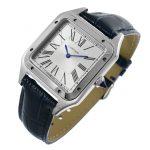 4 Abbildung zum Produkt Cartier Santos Dumont XL Stahl Lederarmband