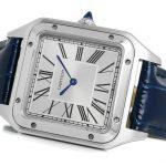 3 Abbildung zum Produkt Cartier Santos Dumont XL Stahl Lederarmband