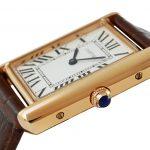 4 Abbildung zum Produkt Cartier Tank Solo XL Rosegold Lederarmband
