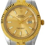 Product:Rolex Datejust 41 Oystersteel Gelbgold
