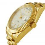 5 Abbildung zum Produkt Rolex Daydate Gelbgold 41mm weißes Zifferblatt