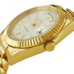 6 Abbildung zum Produkt Rolex Daydate Gelbgold 41mm weißes Zifferblatt