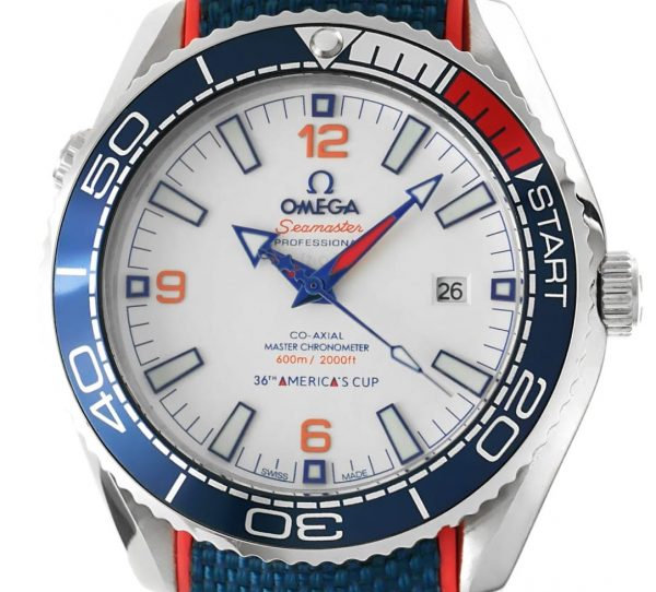 Omega Seamaster Planet Ocean Americas Cup Edition 2021