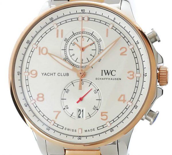 IWC Portugieser Automatic Yacht Club - Stahl/Gold