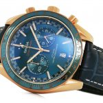 3 Abbildung zum Produkt Omega Speedmaster MASTER CHRONOMETER Gold - Blau