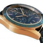 7 Abbildung zum Produkt Omega Speedmaster MASTER CHRONOMETER Gold - Blau