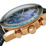 6 Abbildung zum Produkt Omega Speedmaster MASTER CHRONOMETER Gold - Blau